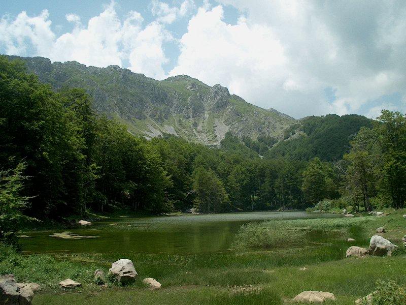 Λίμνη Μουτσάλια - Αρρένες Γράμμου